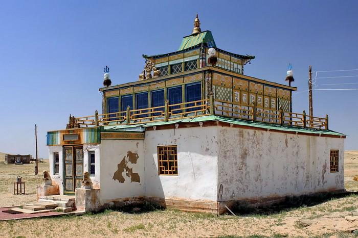 Klasztor Khamrin, prowincja Dundgovi