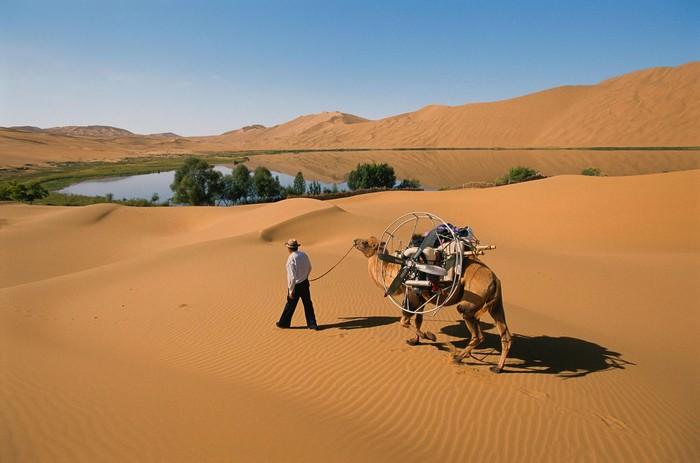 Pustynia Gobi Piękne miejsca w Mongolii