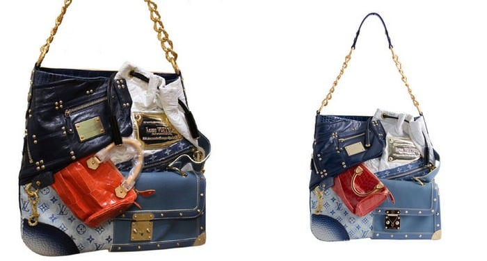 Torba patchworkowa Louis Vuitton Tribute - 42000 $