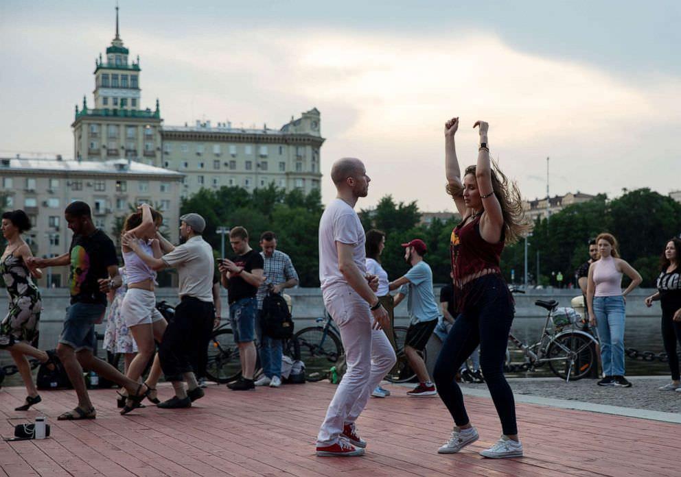 Moskwa Rosja Letnie wakacje