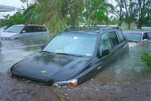 Uszkodzenia spowodowane huraganem Wilma