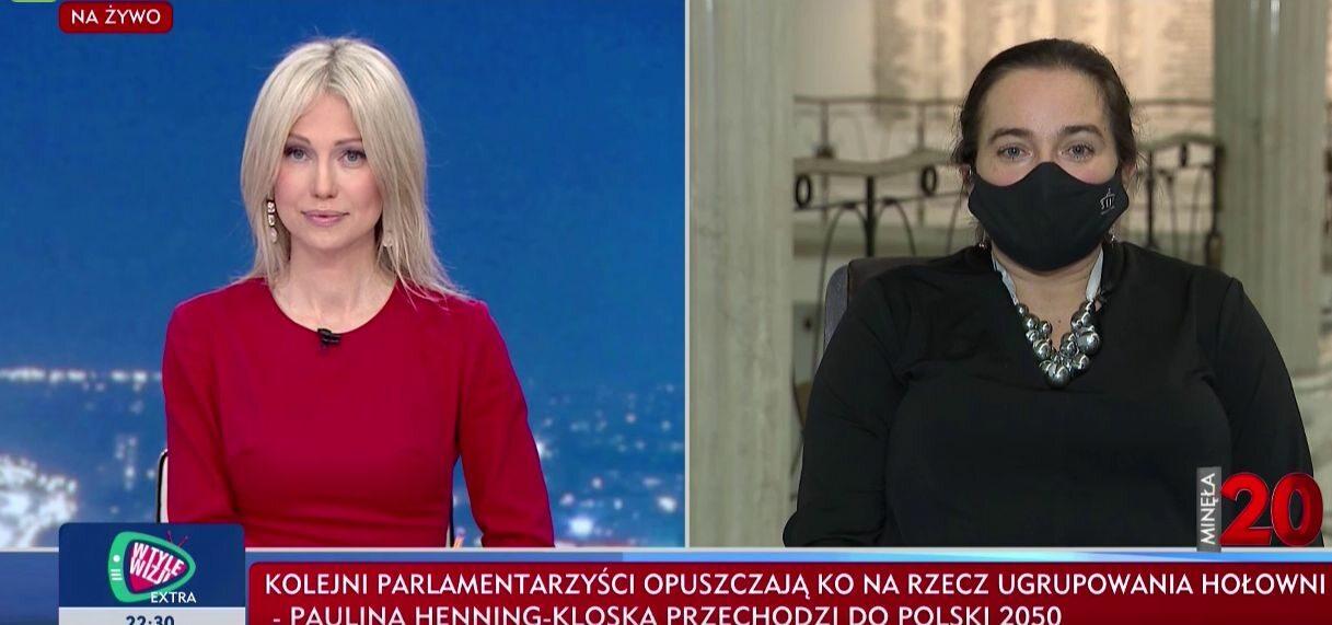 Spięcie prowadzącej Magdaleny Ogórek i posłanki Lewicy w TVP Info