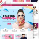 Uniwersalny szablon PSD witryny e-commerce