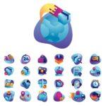 Darmowe ikony dostawy i handlu elektronicznego!