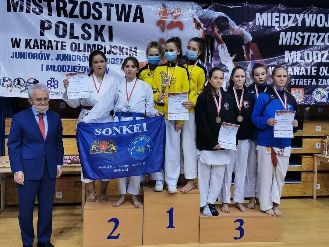 8 medali na Mistrzostwach Polski w Karate Olimpijskim