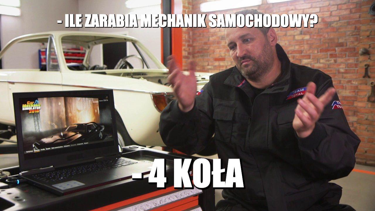 Ile zarabia mechanik samochodowy?