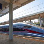 Chiny zaprezentowały prototyp nowego ultraszybkiego pociągu