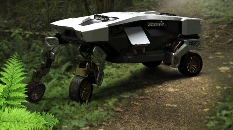 Tiger X-1 – autonomiczny samochód, który chodzi. Hyundai pokazał pierwszy projekt