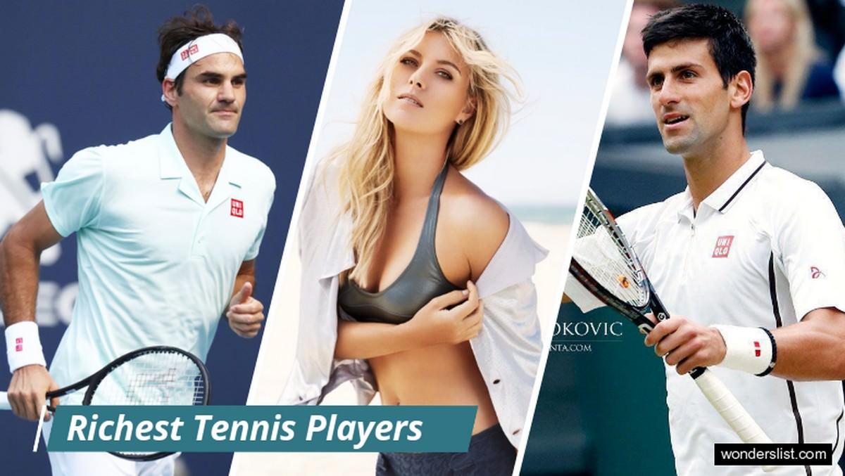 10 najbogatszych tenisistów na świecie