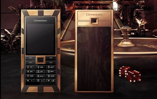 Gresso Luxor Las Vegas Jackpot Drogie telefony komórkowe