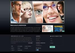 Szablon PSD Centrum Pielęgnacji Oczu