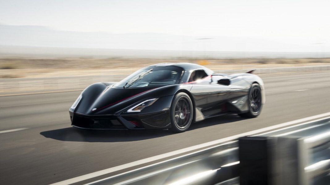 10 najszybszych samochodów na świecie w 2021 roku