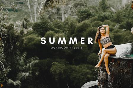 Summer Lightroom Presets ustawienia wstępne XMP, DNGXMP, DNG